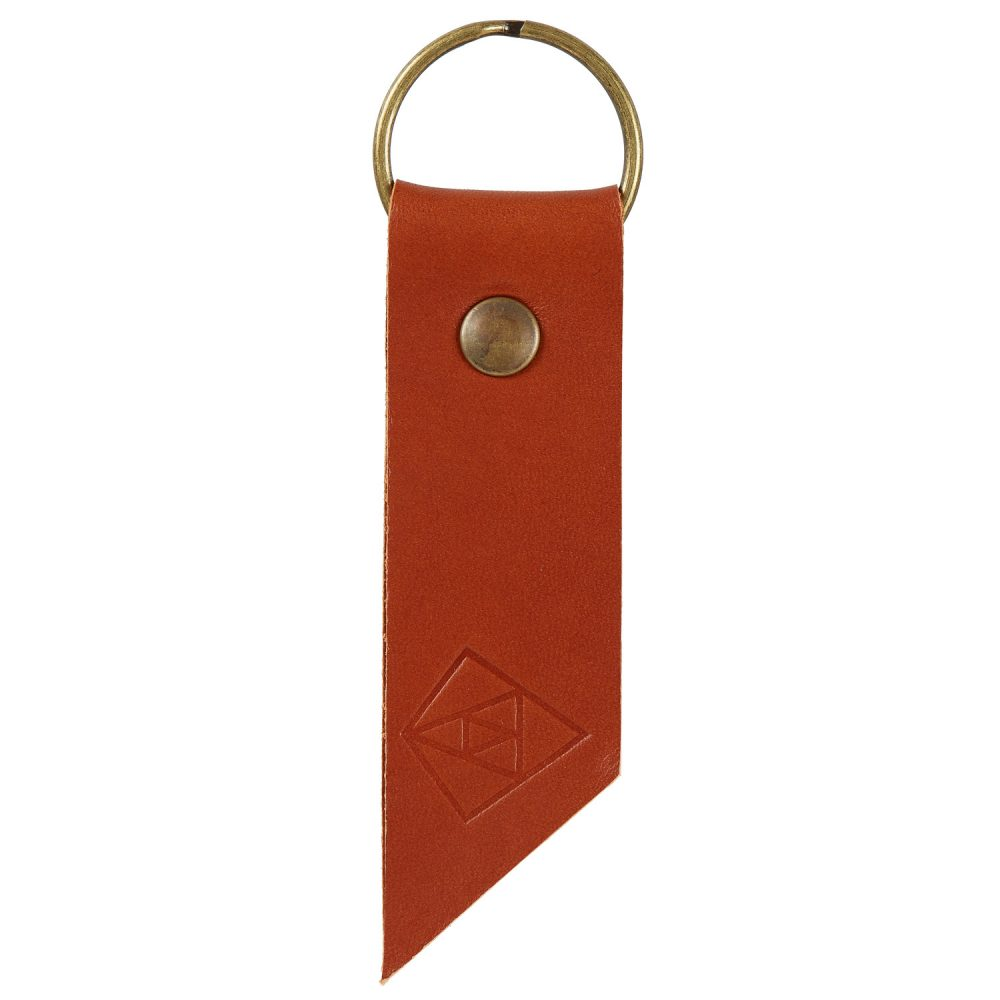 tan key ring