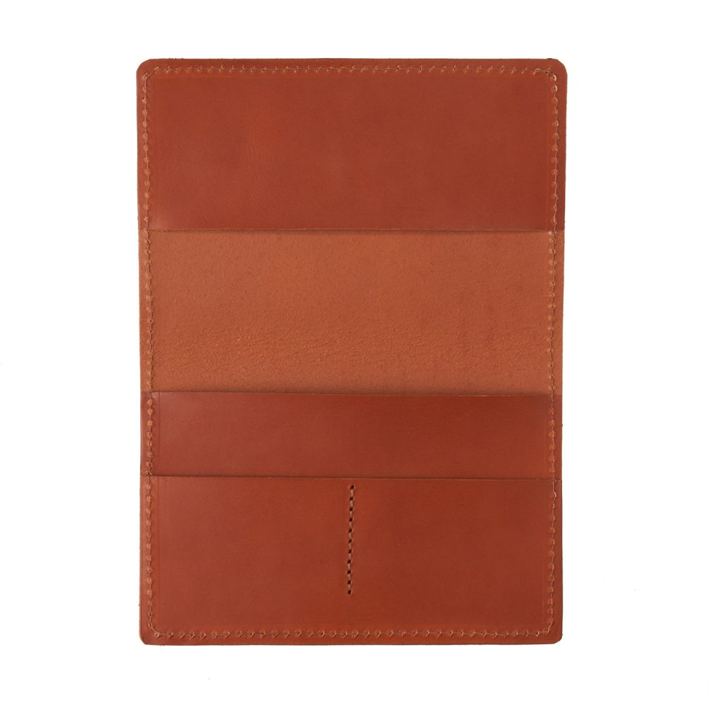 tan passport cover