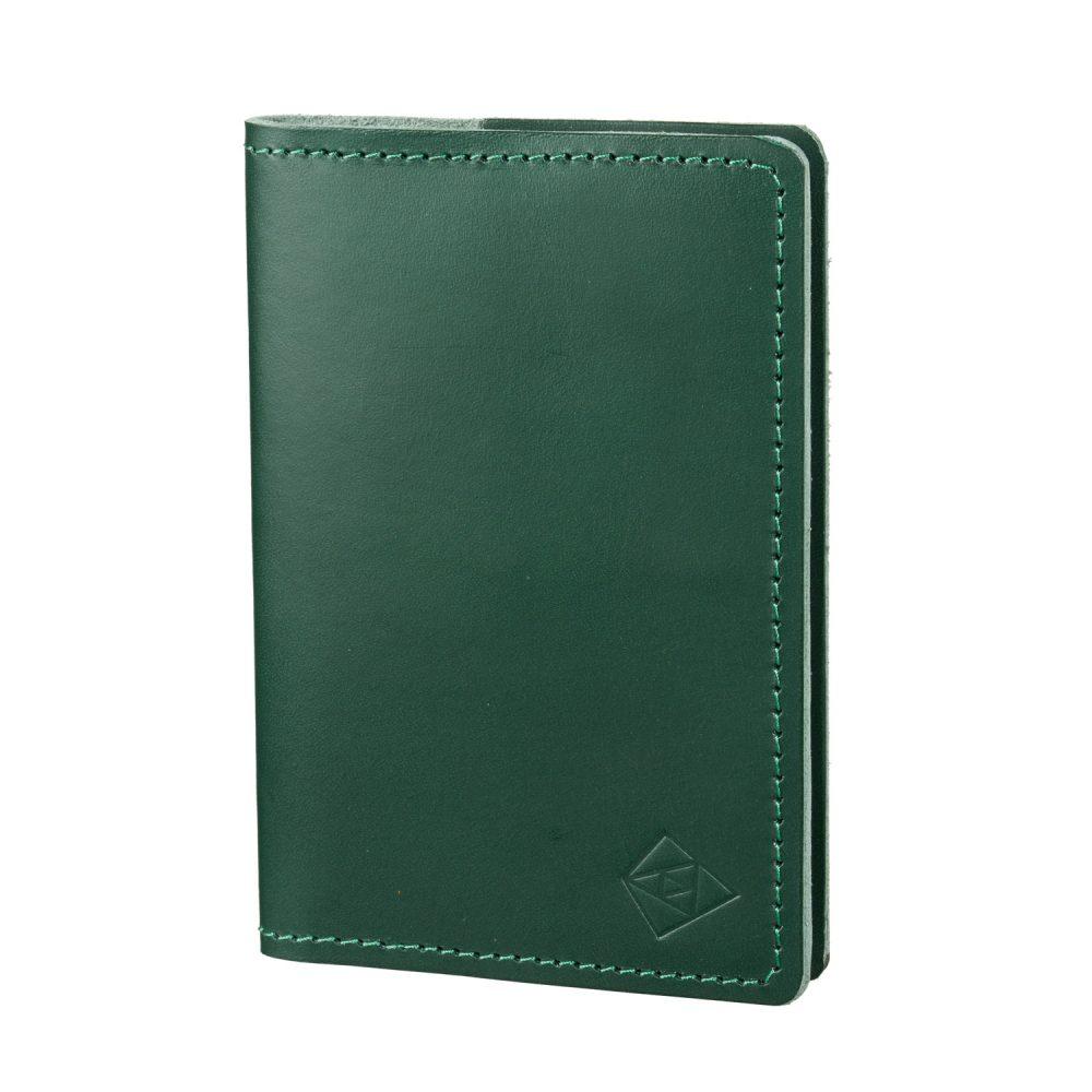 green passport cover closed