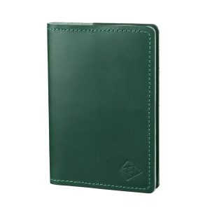 green passport cover closed