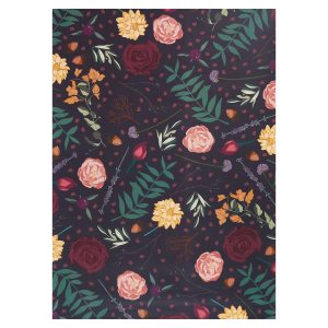 floral juniper wrap