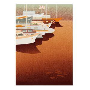docks print
