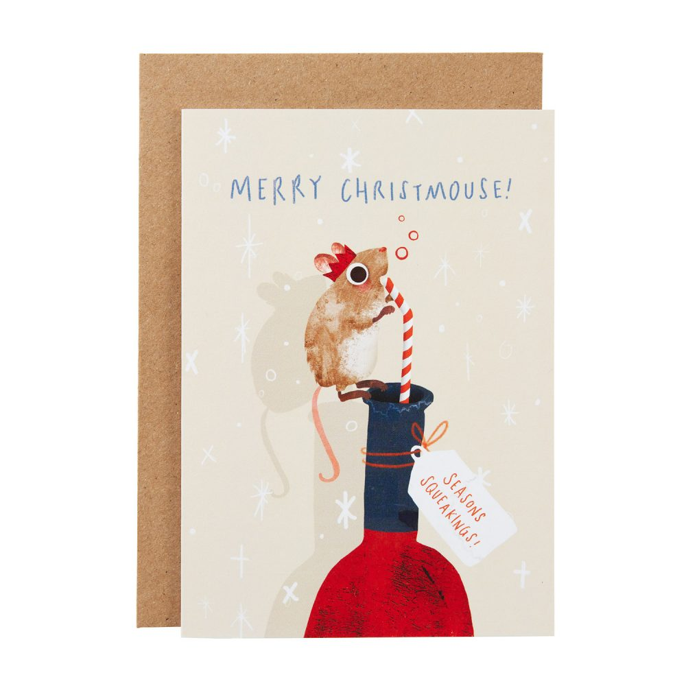 wine mouse card