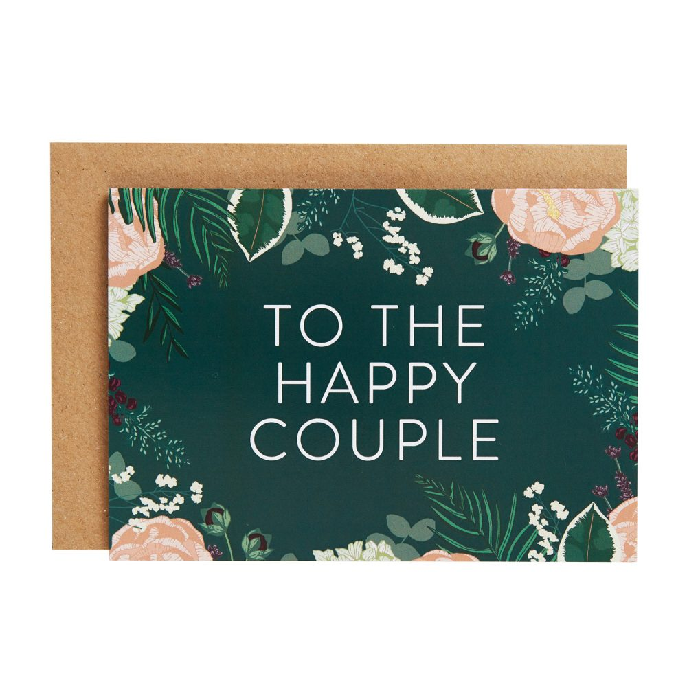 happy couple card