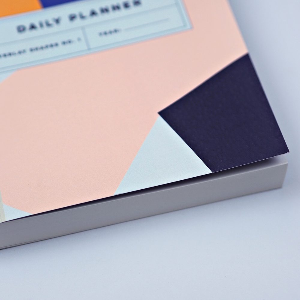 Luxury notebooks - overlay shapes no.1 planner, detail