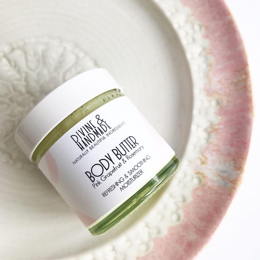 Palm oil free - vegan grapefruit body butter