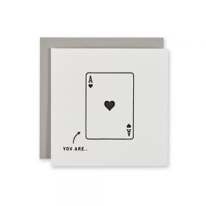 Quriky Greetings Cards - You Are Ace Design