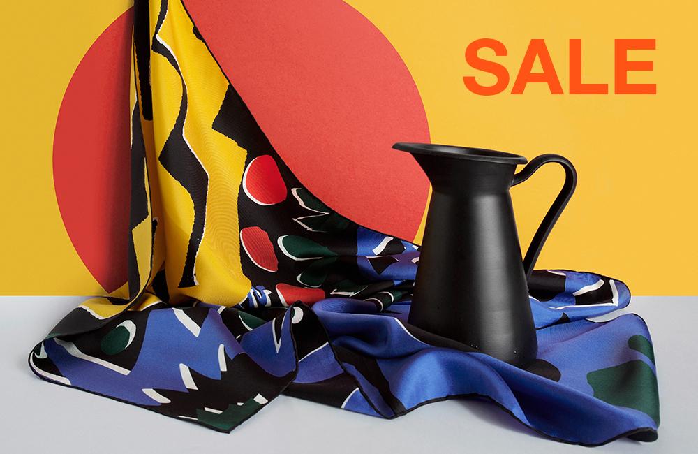 Silk scarf - Summer Sale