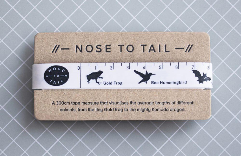 Soft animal tape measure