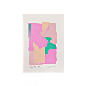 Limited edition art prints - pastel abstract screenprint