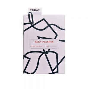 Luxury notebooks - graphic shapes planner