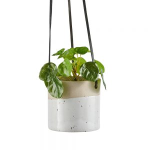 Ceramic hanging plant pot