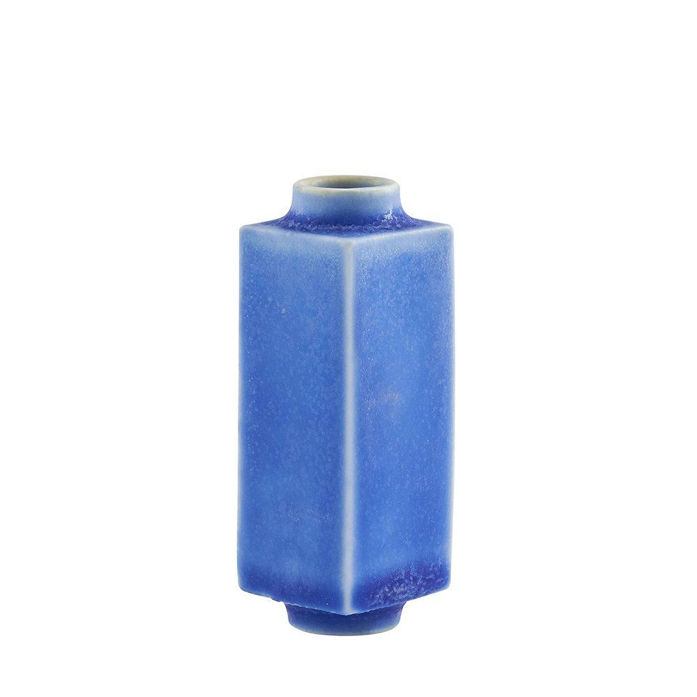 Designer homeware - miniature pot bright blue