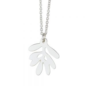 Unique Necklaces Silver Olive Leaf
