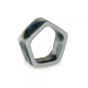 Unique necklaces - pentagon pendant