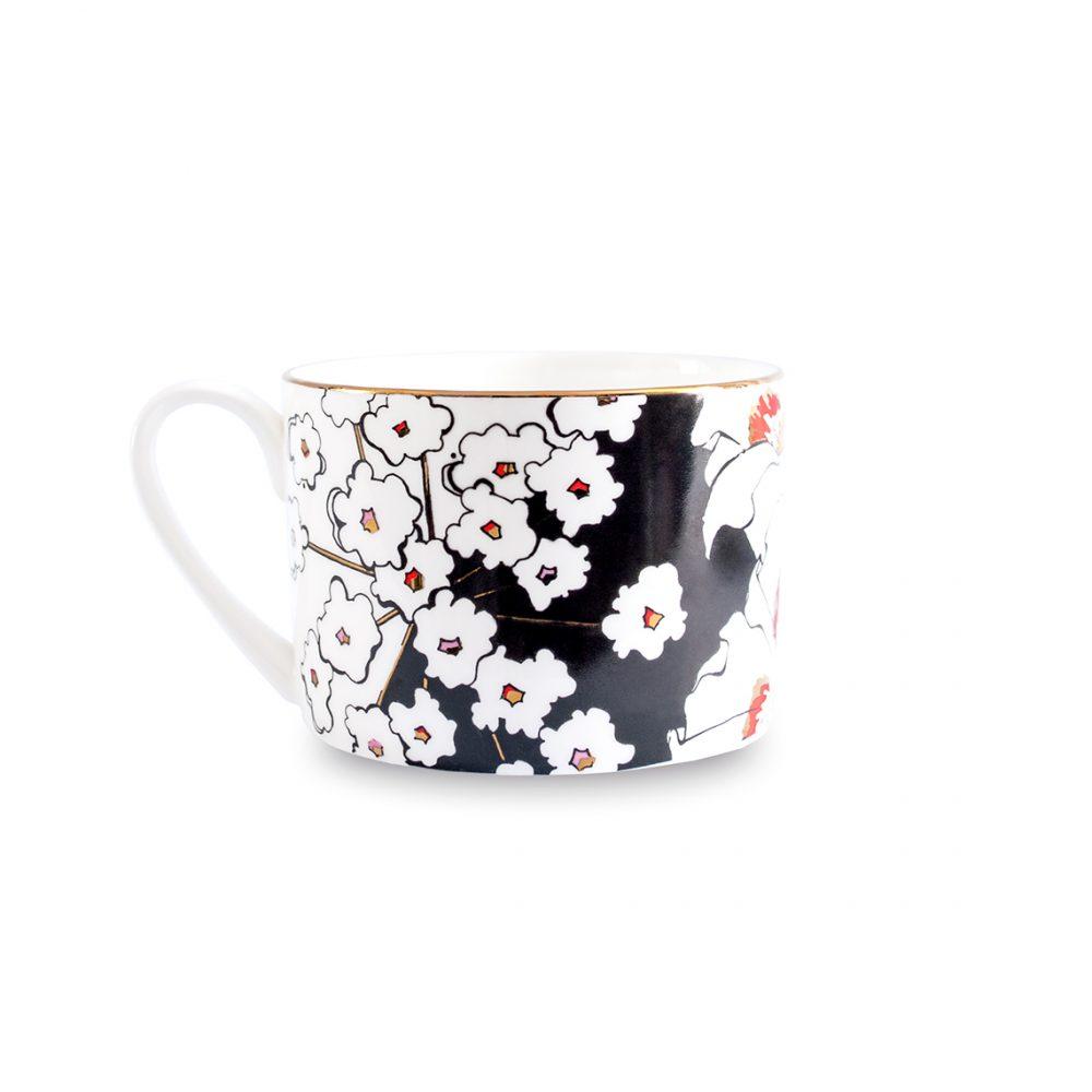 Unique tableware - deadly blooms cup
