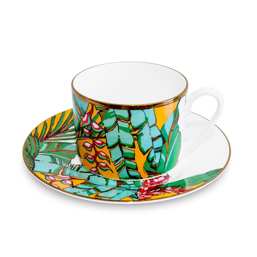 Unique tableware - shangri la cup and saucer