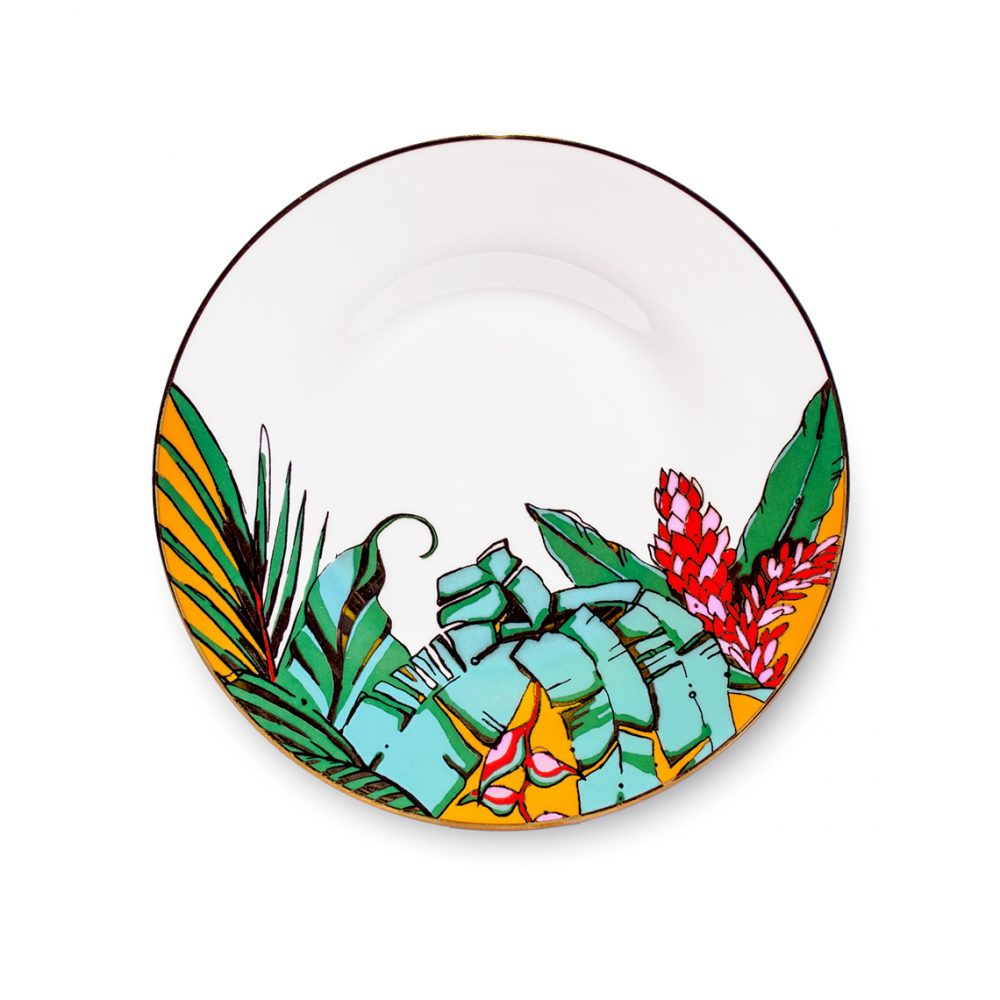 Unique tableware - shangri la saucer