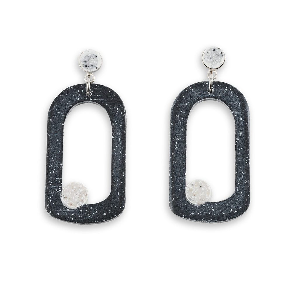 Unique earrings - Barbara Hepworth design