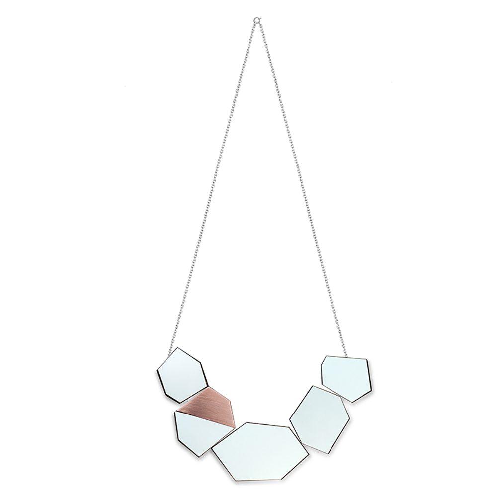 Ella turquoise formica unique necklaces