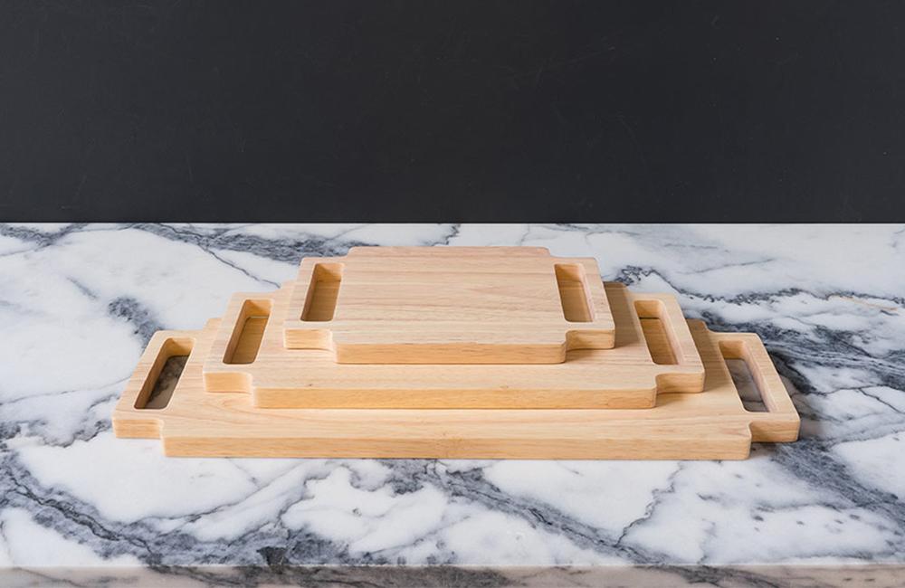 Unusual Tableware - Double Handle Cutting Board