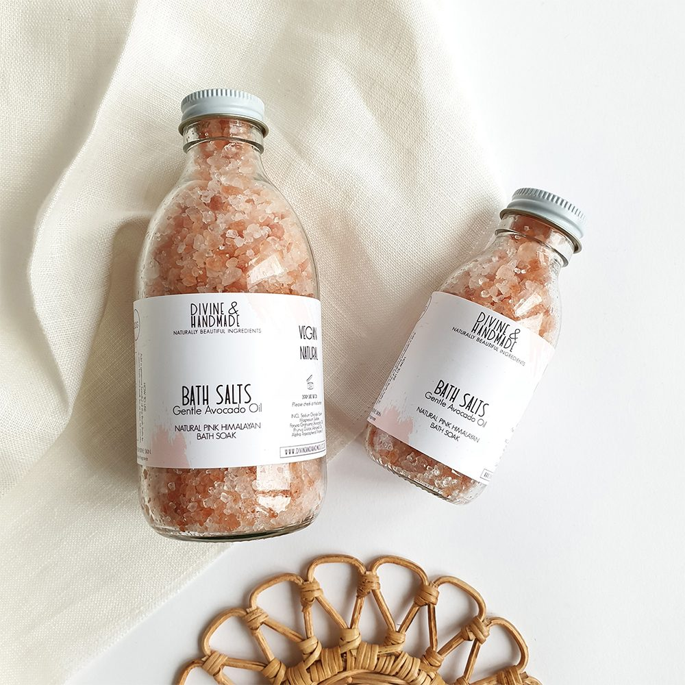 Vegan Pink Himalayan Bath Salts