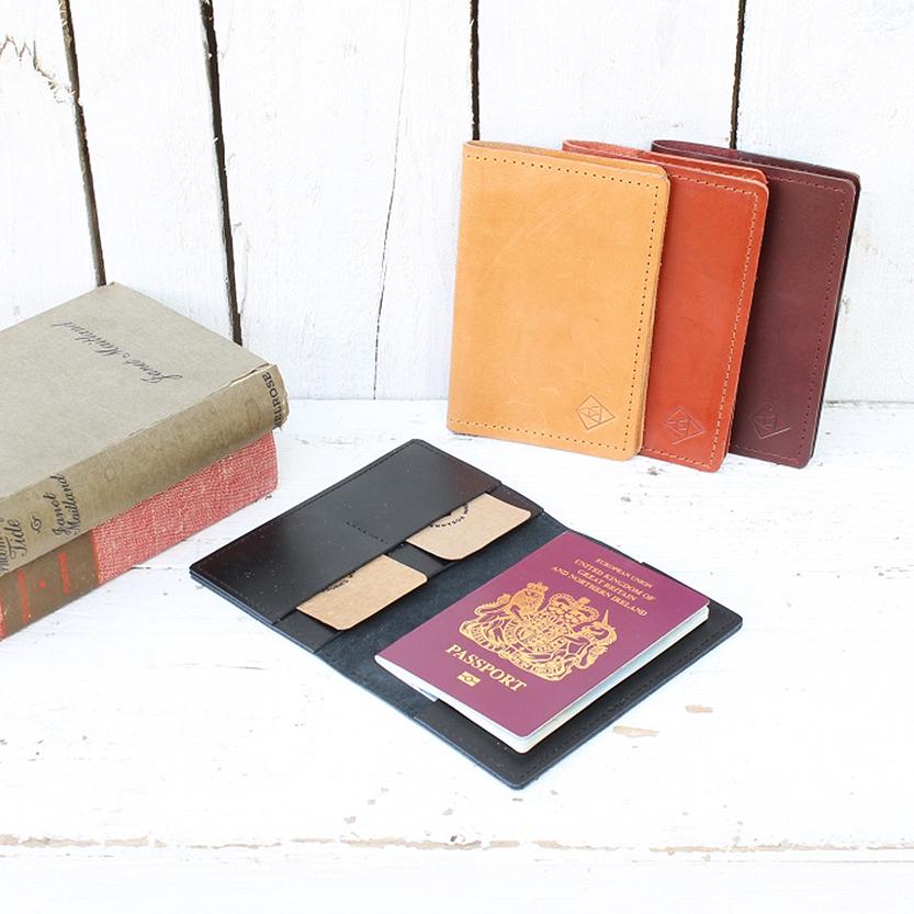 black passport cover
