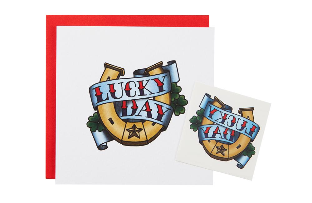 lucky day card