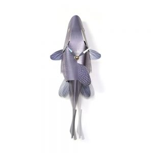 Cool Homeware Fish Clock Blue