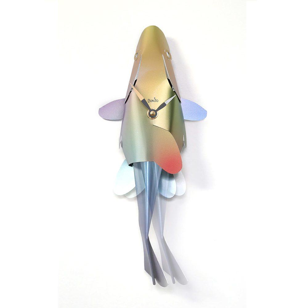 Cool Homeware Fish Clock Colourful