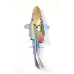 Cool Homeware Fish Clock Colourful