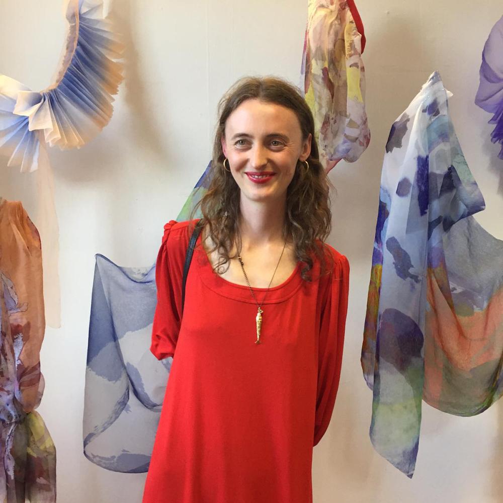 Found Thread designer Mia de Las Casas