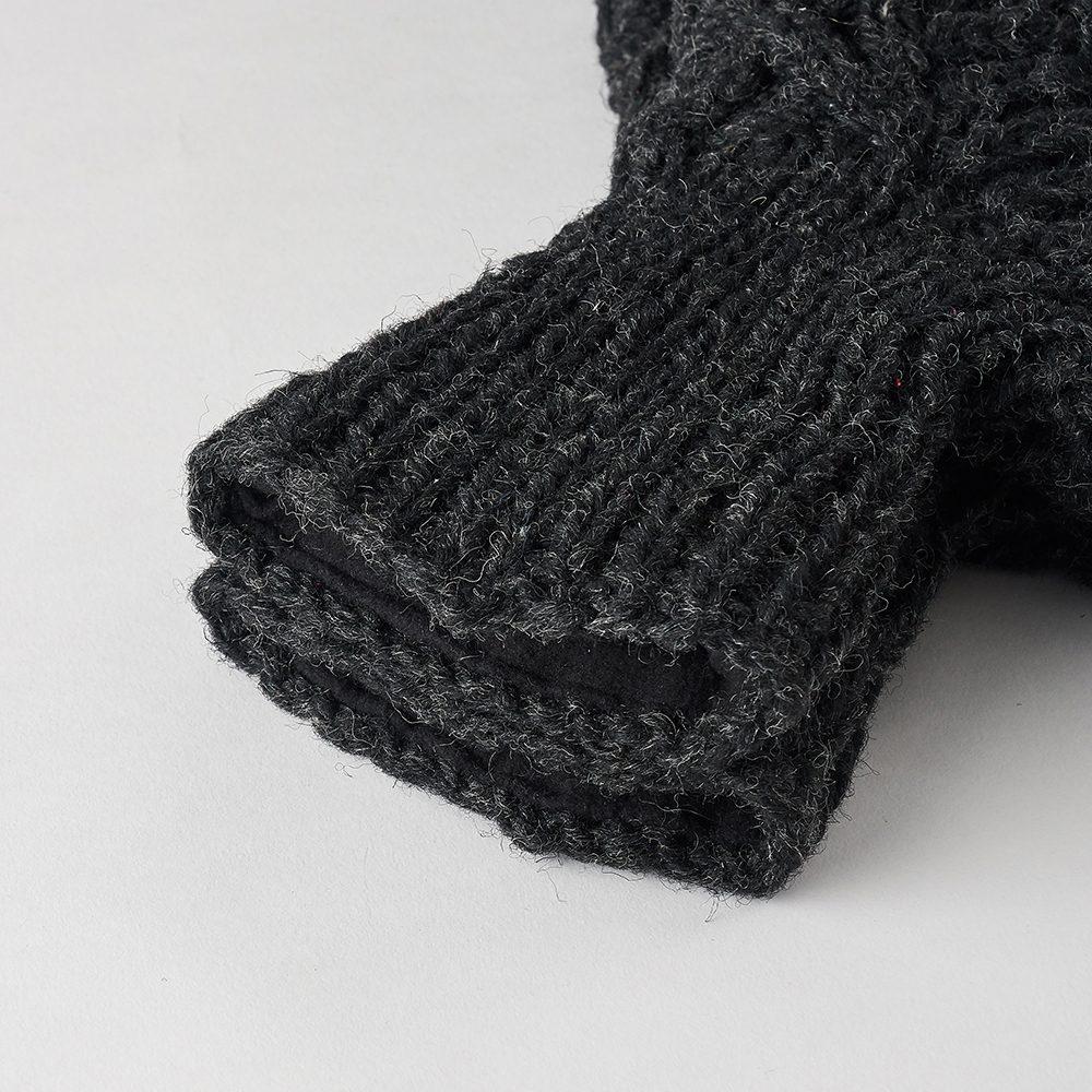 Luxury socks dark grey slippers