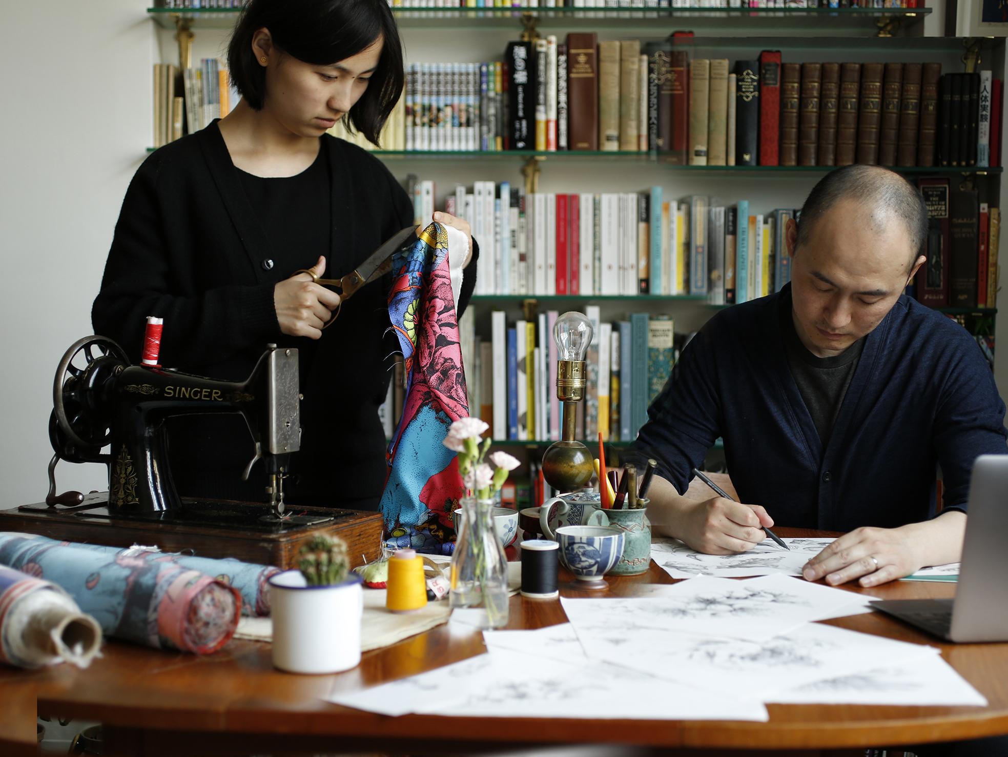 Photo of Shan Jiang and Ying Wu