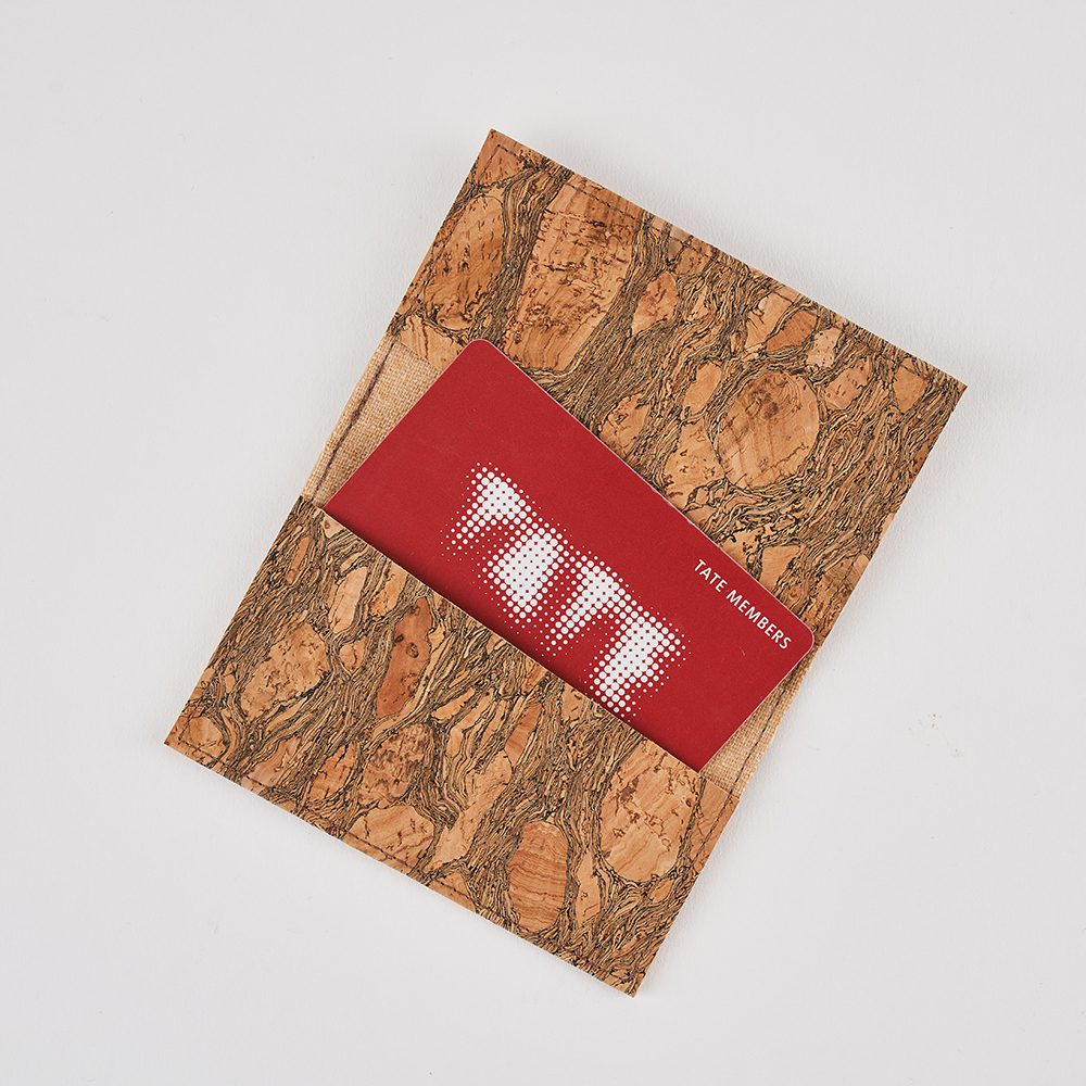 Mens accessories gifts - sustainable cork cardholder