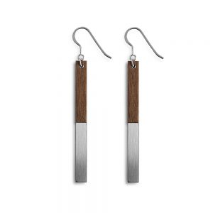 Unique earrings - Zelda steel